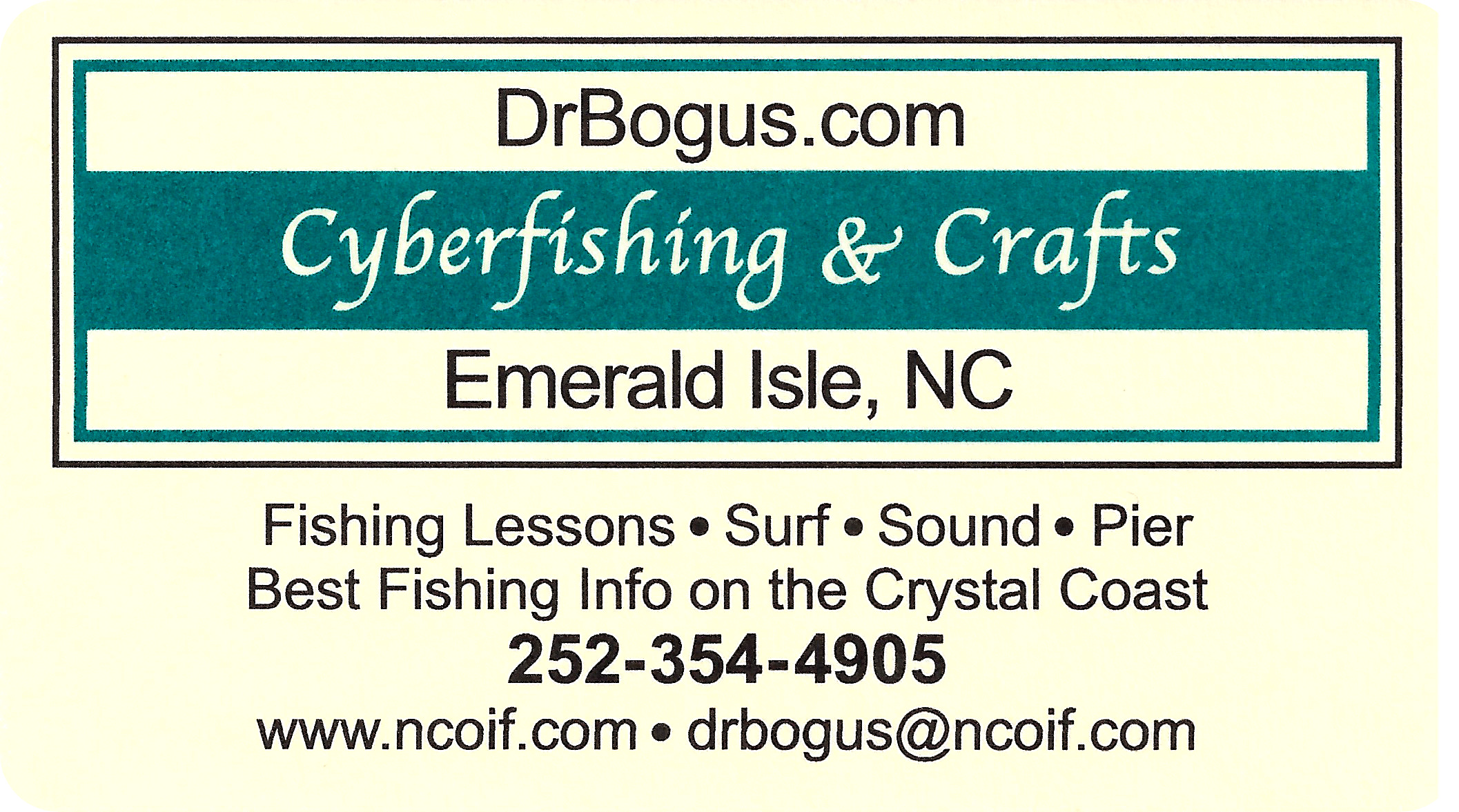 Dr. Bogus.com (Fishing Information & Instruction)